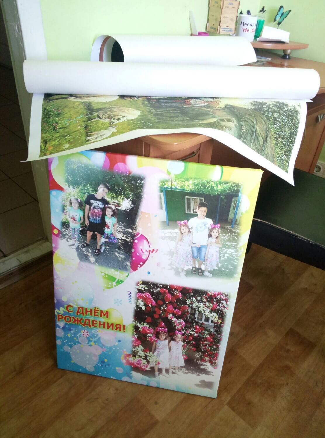Печать на холстах фото № 5