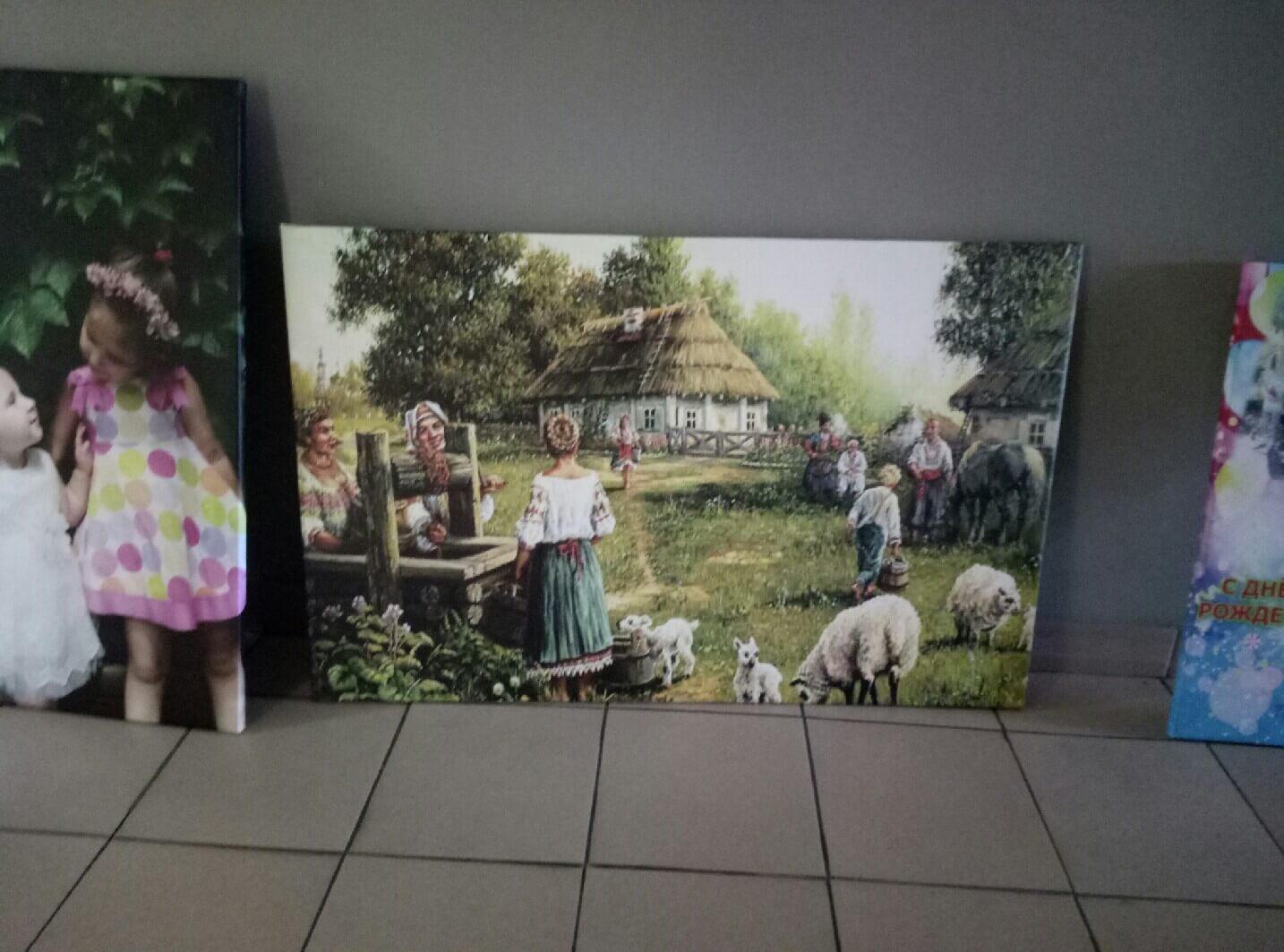 Печать на холстах фото № 16